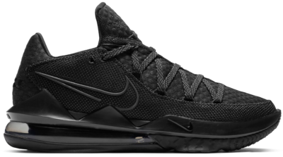 Nike LeBron 17 Low Triple Black CD5007-003