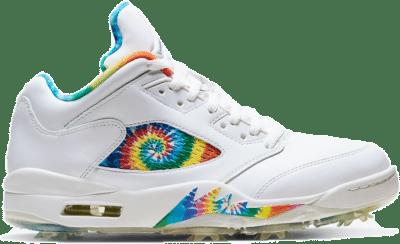 Jordan 5 Retro Low Golf Tie Dye CW4205-100