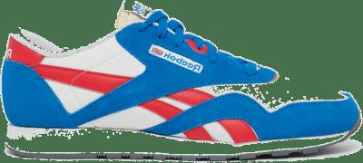Reebok Classic Nylon Schoenen Dynamic Blue / Chalk / Carotene Q47264