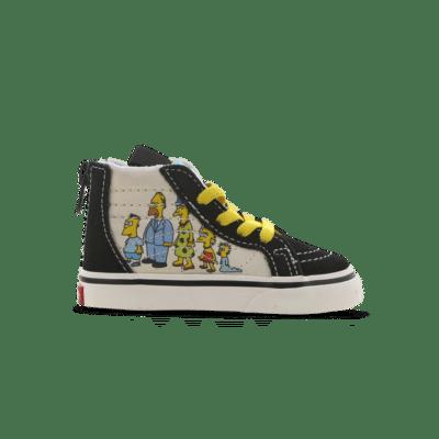 Vans Sk8-hi Zip The Simpsons 1987-2020 Blue VN0A4BV117E