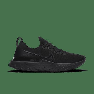 Nike React Infinity Run Flyknit Zwart CD4372-011