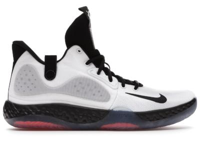 Nike KD Trey 5 VII White Bright Crimson Black AT1200-100