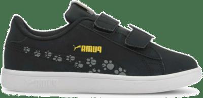 Puma Smash v2 Animals sportschoenen Grijs / Zwart 373185_03