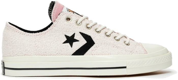 """Converse x CONVERSE STAR PLAYER OX REVERSE TERRY """"LOTUS PINK"""" 168755C"""