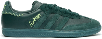"adidas Originals x JONAH HILL SAMBA ""GREEN NIGHT"" FW7458"