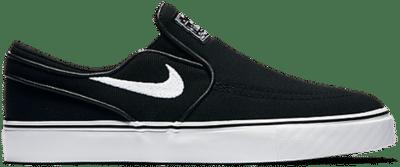Nike SB Stefan Janoski Canvas Slip-on Zwart 882988-002