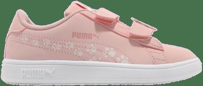 Puma Smash v2 Animals sportschoenen Roze / Grijs 373185_02