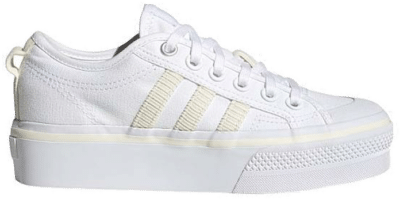 adidas Nizza Platform Cloud White H69028