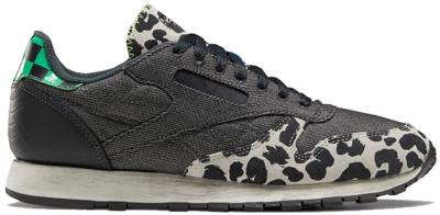 Reebok Classic Leather Schoenen Coal / Night Black / Stucco Q46337
