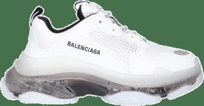 Balenciaga Blalenciaga Triple S Clear Sole White Grey 541624W2GS19012