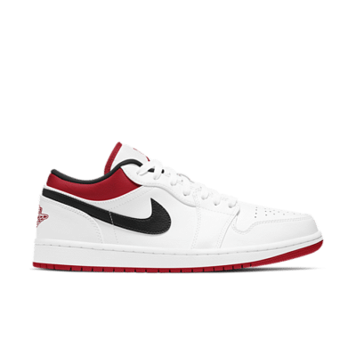 "Air Jordan 1 LOW ""WHITE"" 553558-118"
