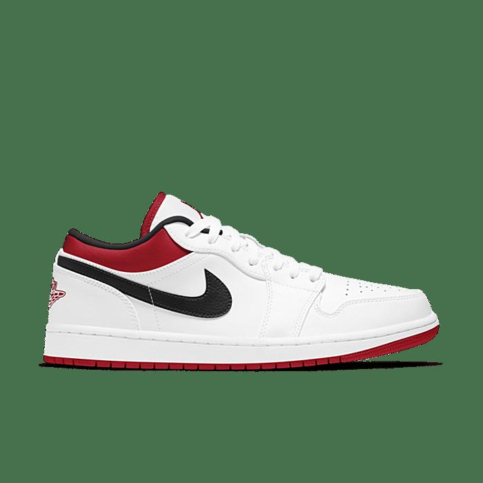 """Air Jordan 1 LOW """"WHITE"""" 553558-118"""