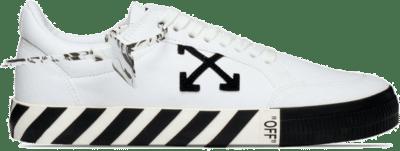 Off-White Low Vulc White Black AW20 OMIA085E20FAB0010110