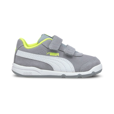 Puma Stepfleex 2 SD V sportschoenen Grijs / Geel / Wit 371231_06