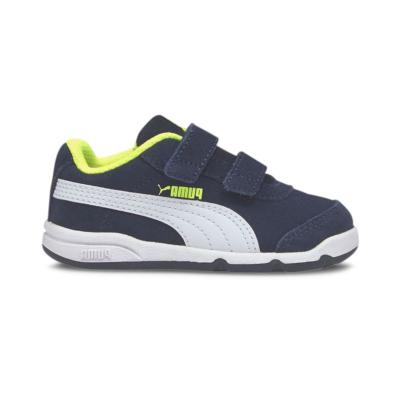 Puma Stepfleex 2 SD V sportschoenen Blauw / Geel / Wit 371231_07