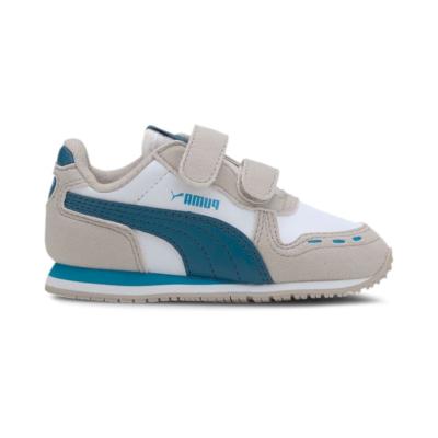 Puma Cabana Racer SL sportschoenen Wit / Blauw 351980_85