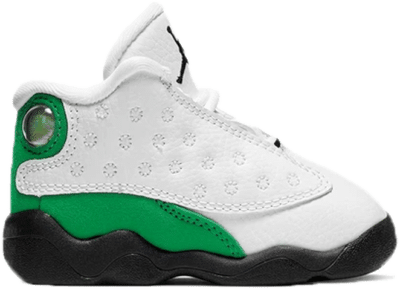 Jordan 13 Retro White Lucky Green (TD) 414581-113