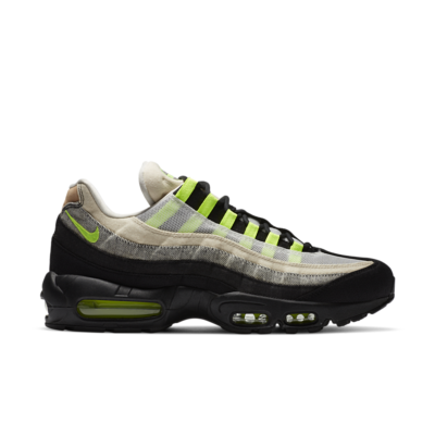 Nike Air Max 95 x DENHAM 'Volt' Black/Summit White/Volt DD9519-001