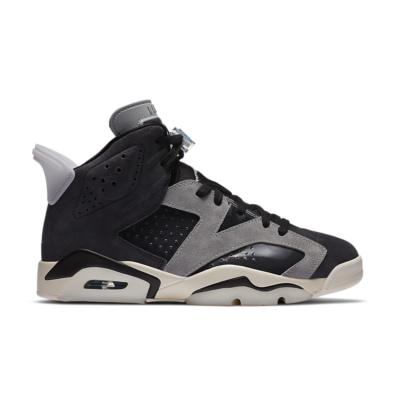 Women's Air Jordan 6 'Tech Chrome' Black/Light Solar Flare Heather/Sail/Chrome CK6635-001