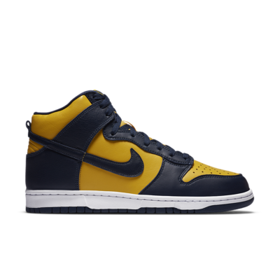 Nike Dunk High 'Maize & Blue' Varsity Maize/Midnight Navy/Midnight Navy CZ8149-700