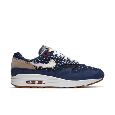 Nike Air Max 1 x DENHAM 'Blue Void' Blue Void/Coastal Blue/Vachetta Tan/Sail CW7603-400