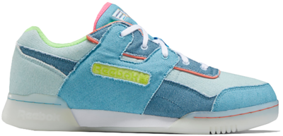 Reebok Workout Plus Schoenen White / Wild Blue / None FW6230