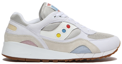 Saucony Shadow 6000 White Multi-Color (Billy's) S70535-1
