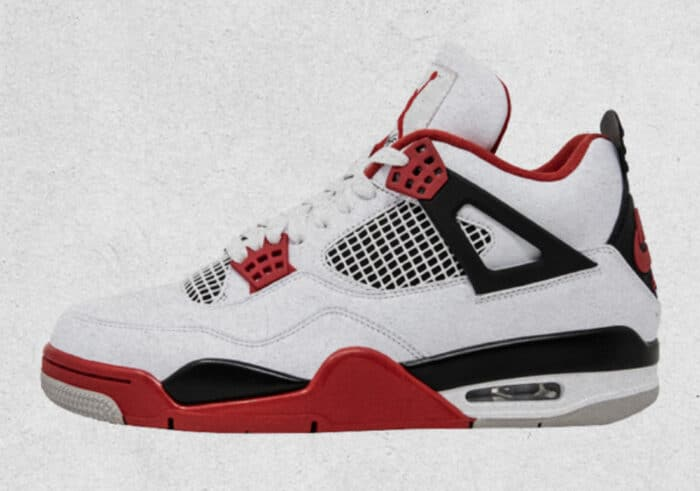 nike Air Jordan fire red 4