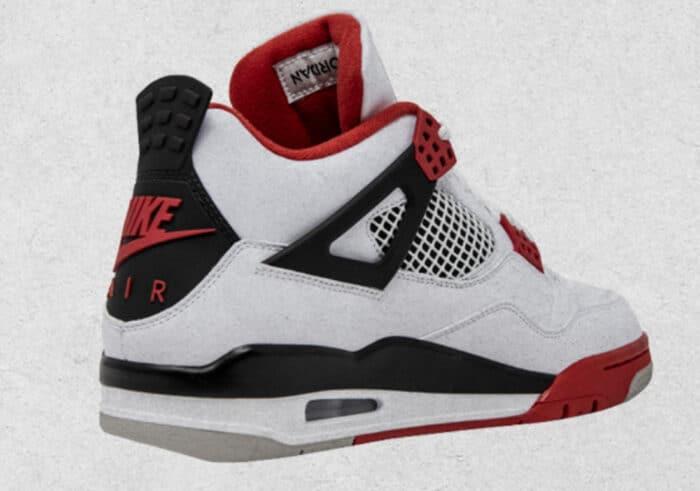 fire red Air Jordan nike 4