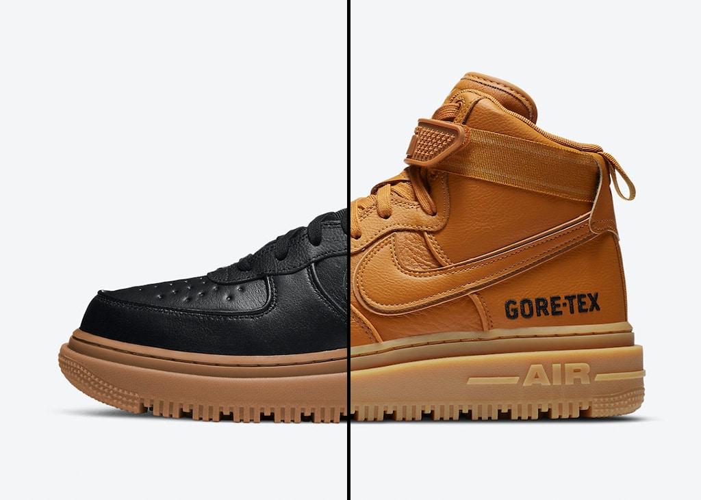 Nieuwe Nike Air Force 1 Gore Tex 'boot' aangekondigd