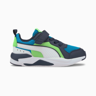 Puma X-Ray AC sportschoenen Blauw / Groen / Wit 372921_08