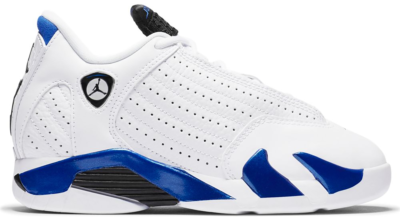 Jordan 14 Retro White Hyper Royal (PS) 312092-104