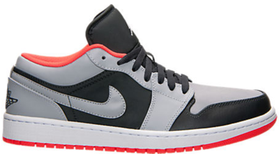 Jordan 1 Low Wolf Grey Infrared 23 553558-022