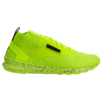 Reebok Zoku Runner Ultra Knit Is Solar Yellow Black White BS6313