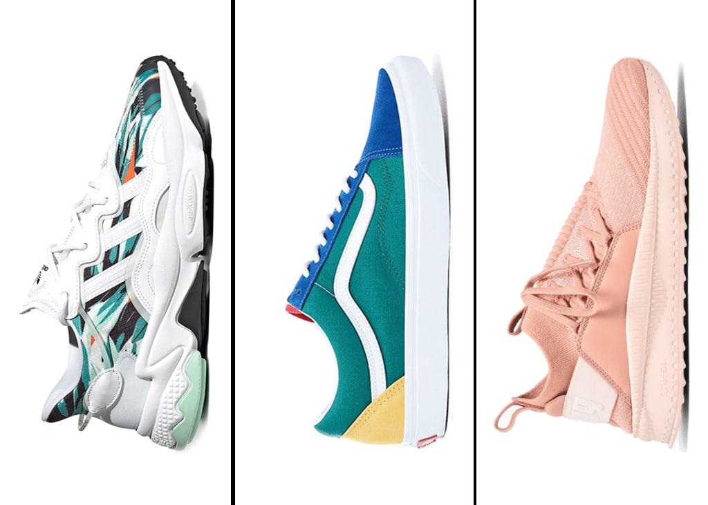 Drie van die: een keer geen Nike sneakers!