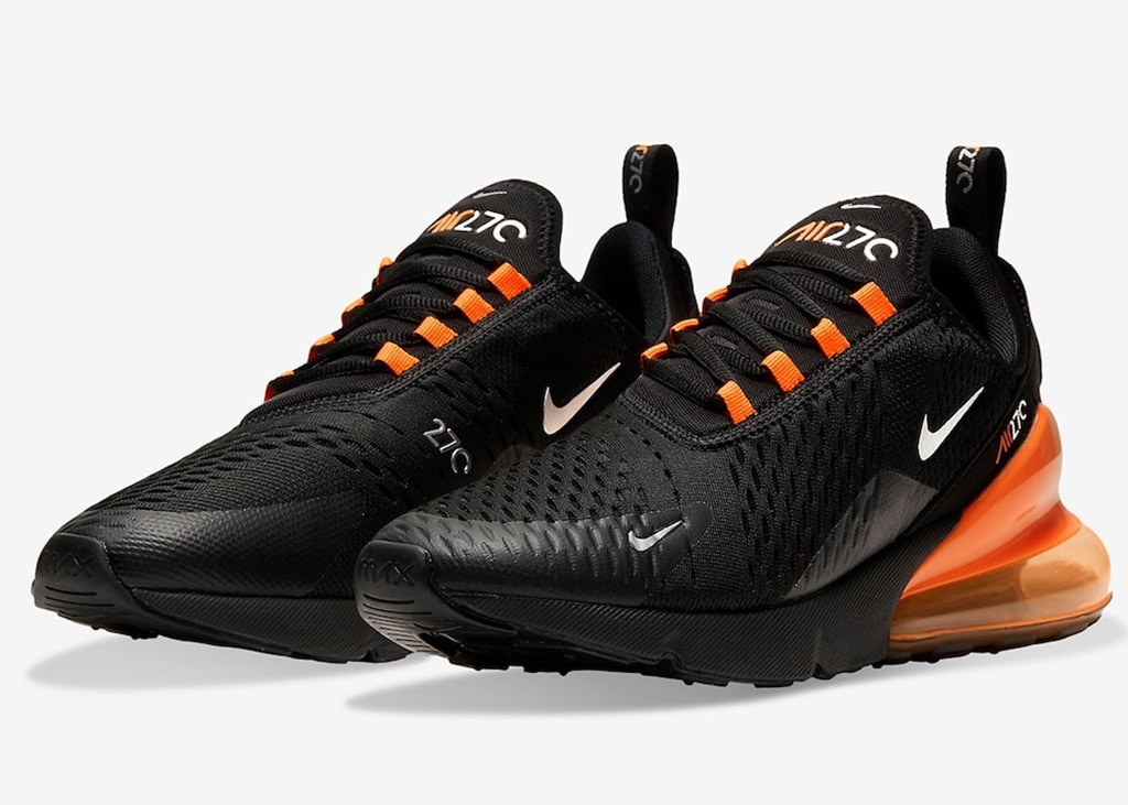 Orange is the new black: nieuwe Nike Air Max 270 voor Halloween!