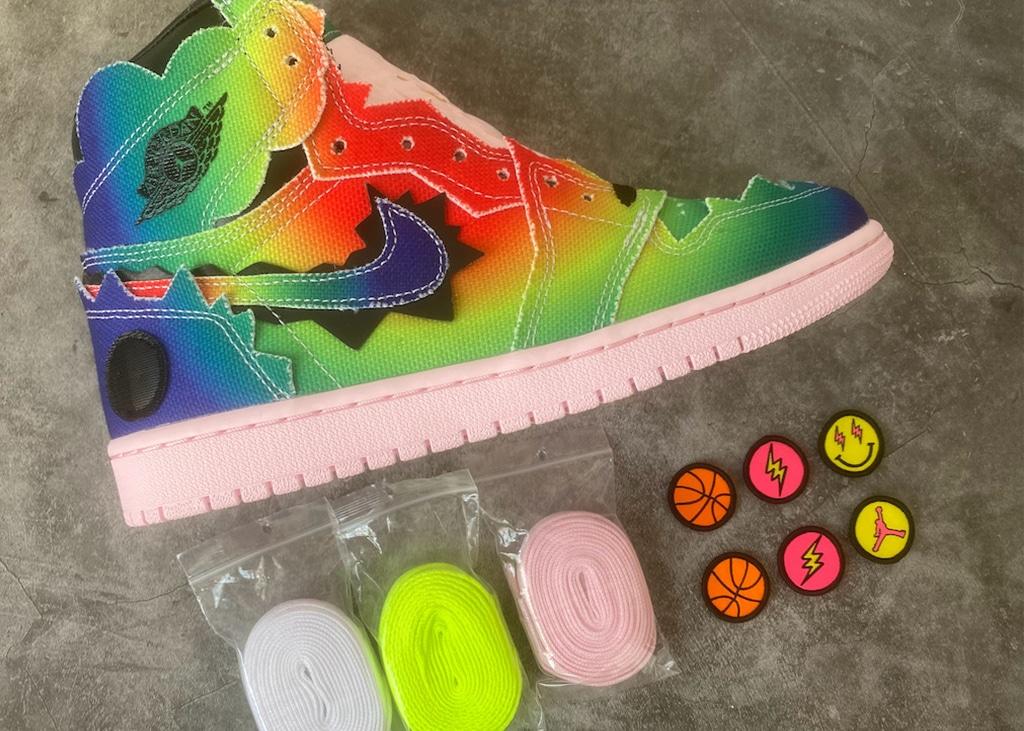 Is de packaging van de nieuwe Air Jordan 1 van J. Balvin mooier dan de schoen?