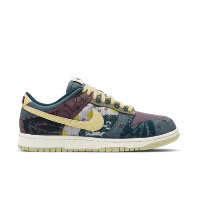 Nike Dunk Low 'Community Garden' Multi-Colour/Midnight Turquoise/Cardinal Red/Lemon Wash CZ9747-900