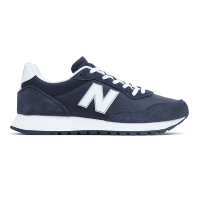 Herren New Balance Unisex 527 White/Natural Indigo
