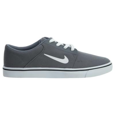 Nike Sb Portmore Canvas Low Skate Shoes Grey 723874-004