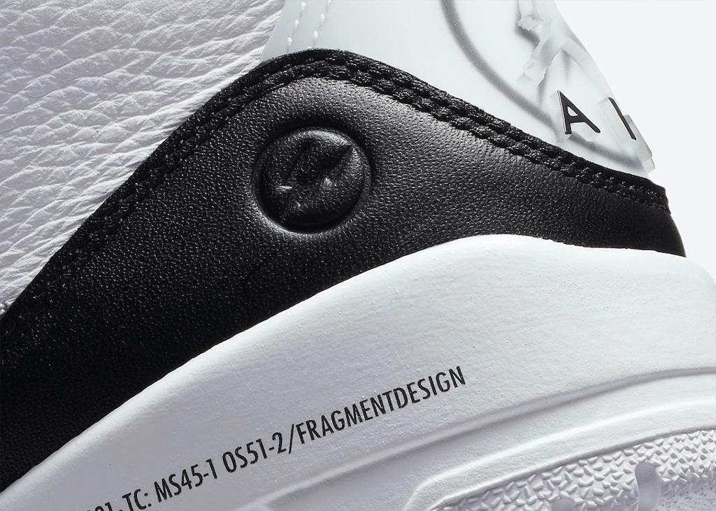 Officiële foto's van de Air Jordan 3 x Fragment release