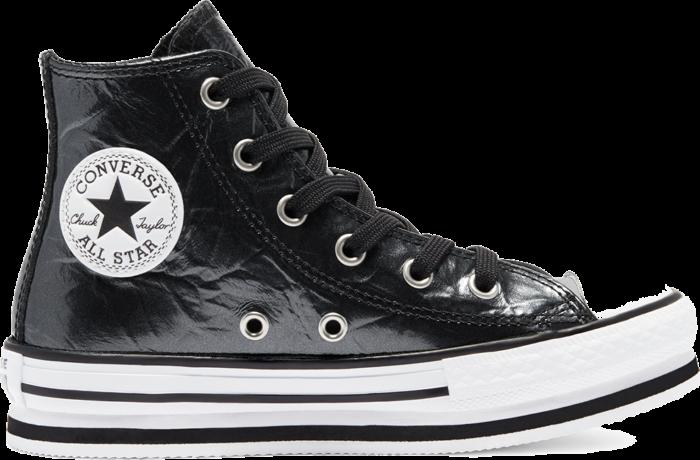 Converse CTAS EVA LIFT HI BLACK/WHITE/BLACK Black 669762C