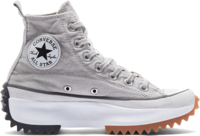 Converse Run Star Hike Smoked Canvas High Top White Light Smoke In 171140C