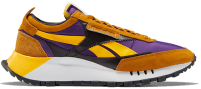 Reebok Classic Leather Legacy Schoenen Rich Ochre / Regal Purple / Midnight Shadow FY4018