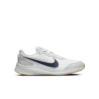 Nike Varsity Leather GS 'White Midnight Navy' White CN9146-100