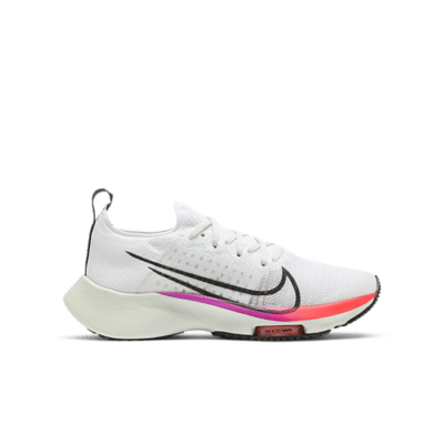 Nike Air Zoom Tempo Next% White Hyper Violet Flash Crimson (GS) CJ2102-100