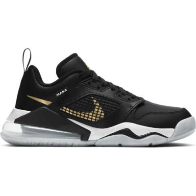 Nike Basketball Jordan Mars 270 (GS) Low Zwart Goud Wit  CK2504-017