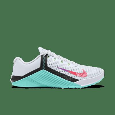 Nike Wmns Metcon 6 'Football Grey Jade' Grey AT3160-020