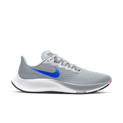 Nike Air Zoom Pegasus 37 'Platinum Racer Blue' Grey BQ9646-006