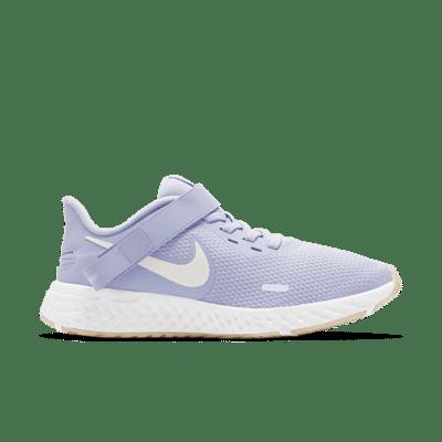 Nike Revolution 5 FlyEase Paars BQ3212-001